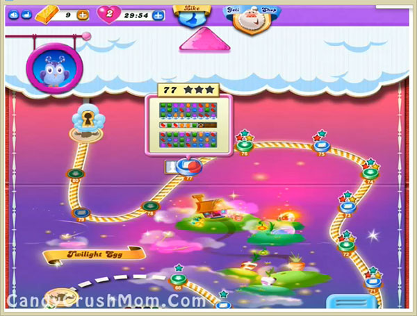 Candy Crush Dreamworld Level 77