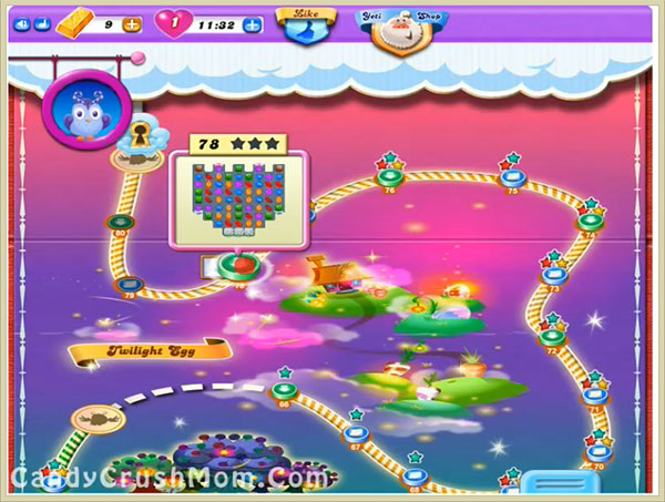 Candy Crush Dreamworld Level 78