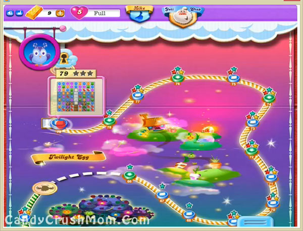 Candy Crush Dreamworld Level 79