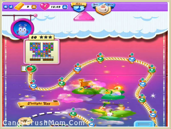 Candy Crush Dreamworld Level 80