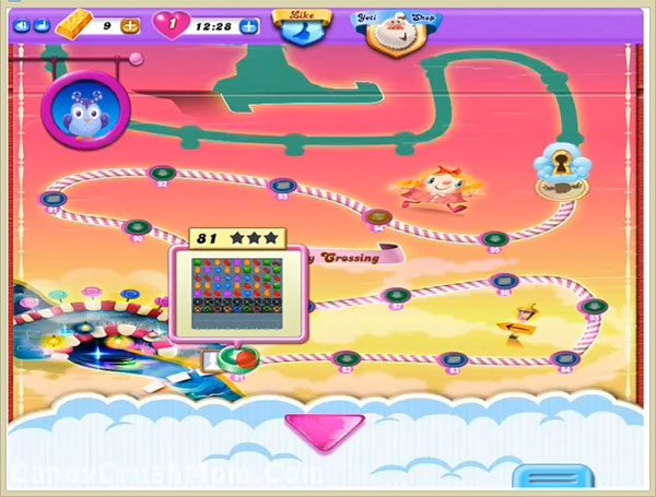 Candy Crush Dreamworld Level 81