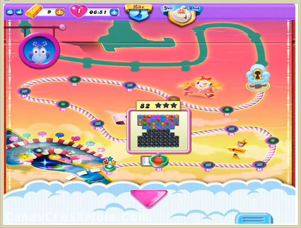 Candy Crush Dreamworld Level 82