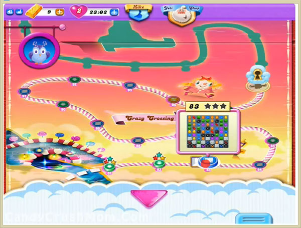 Candy Crush Dreamworld Level 83