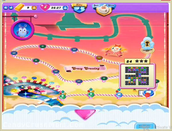 Candy Crush Dreamworld Level 84