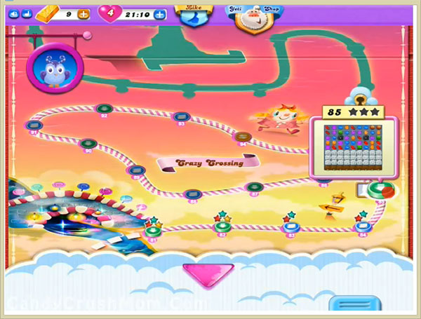 Candy Crush Dreamworld Level 85