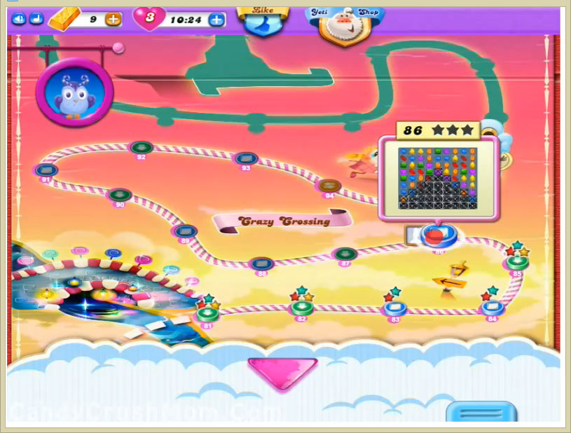 Candy Crush Dreamworld Level 86