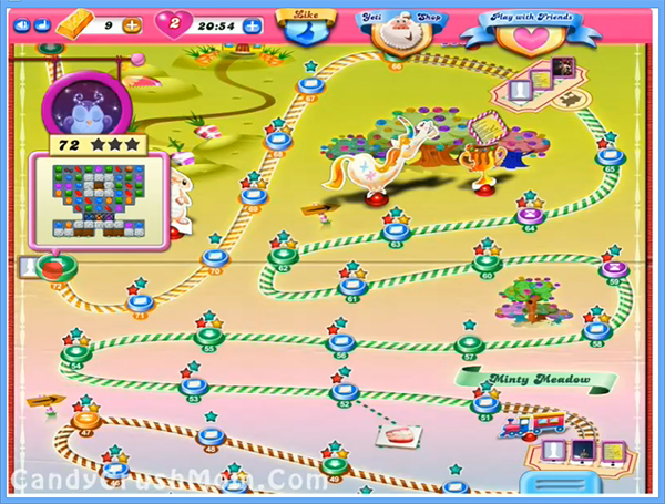 Candy Crush Level 72