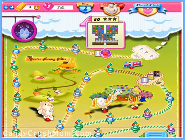 Candy Crush Level 80