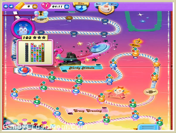 Candy Crush Dreamworld Level 103