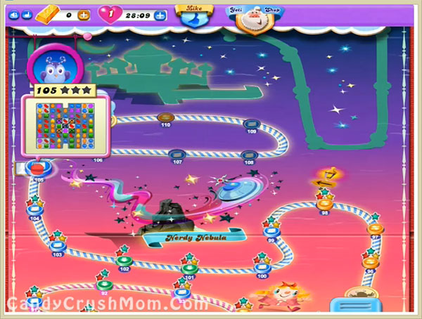 Candy Crush Dreamworld Level 105