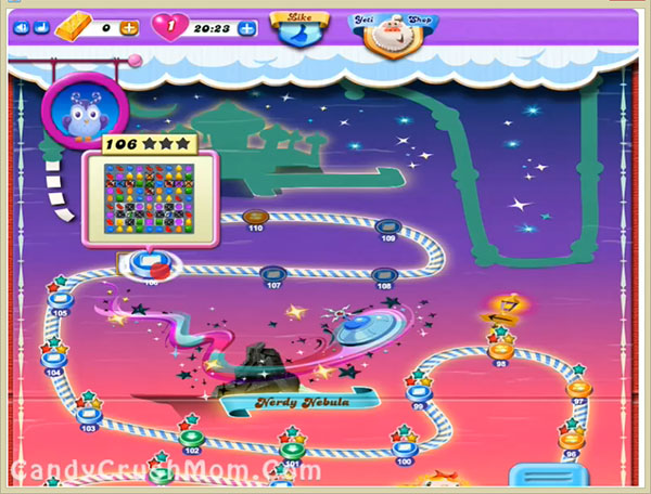 Candy Crush Dreamworld Level 106