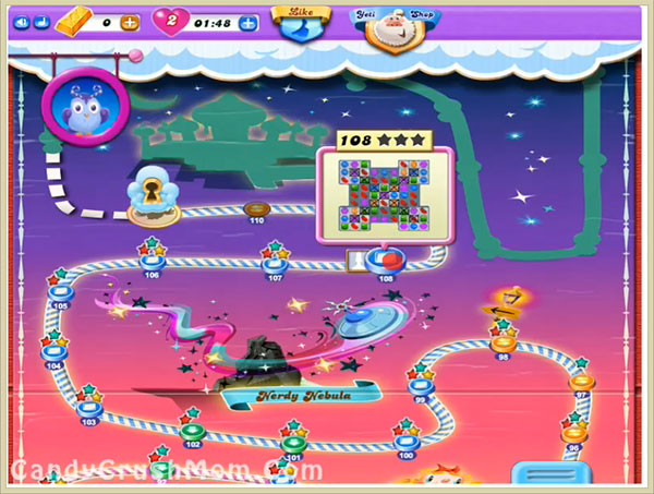 Tips and Walkthrough: Candy Crush Dreamworld Level 108