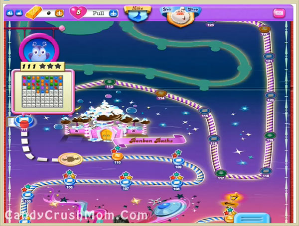 Candy Crush Dreamworld Level 111