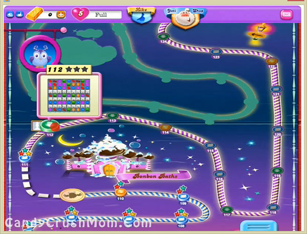 Candy Crush Dreamworld Level 112