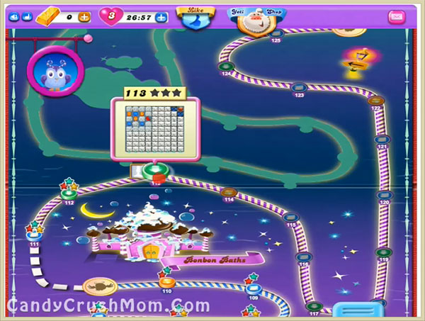 Candy Crush Dreamworld Level 113