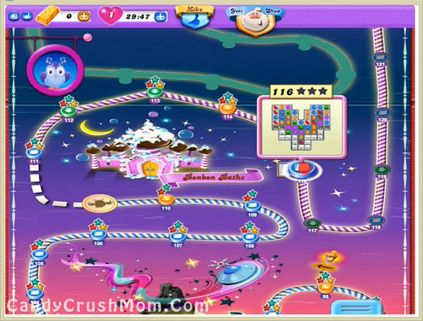 Candy Crush Dreamworld Level 116