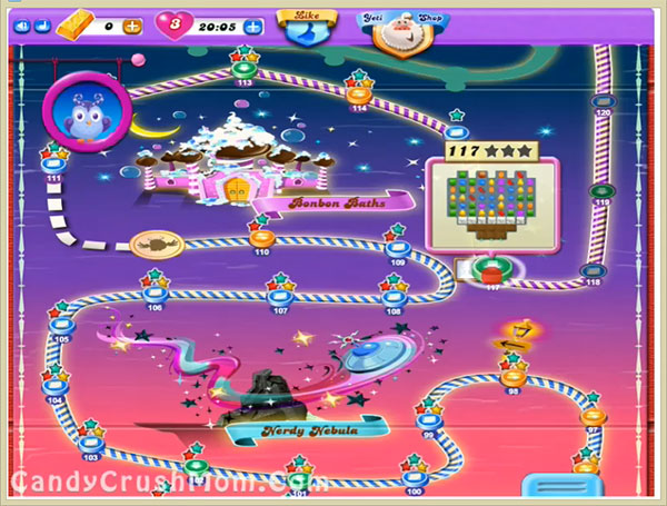 Candy Crush Dreamworld Level 117