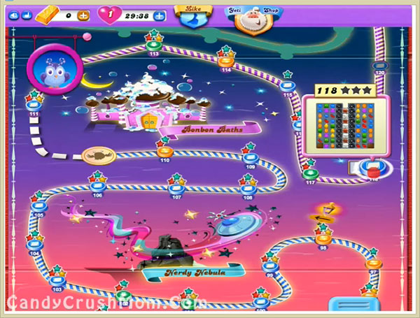 Candy Crush Dreamworld Level 118