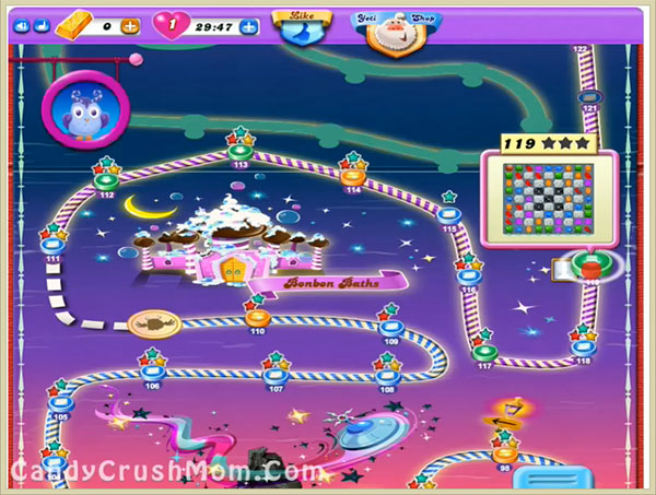 Candy Crush Dreamworld Level 119