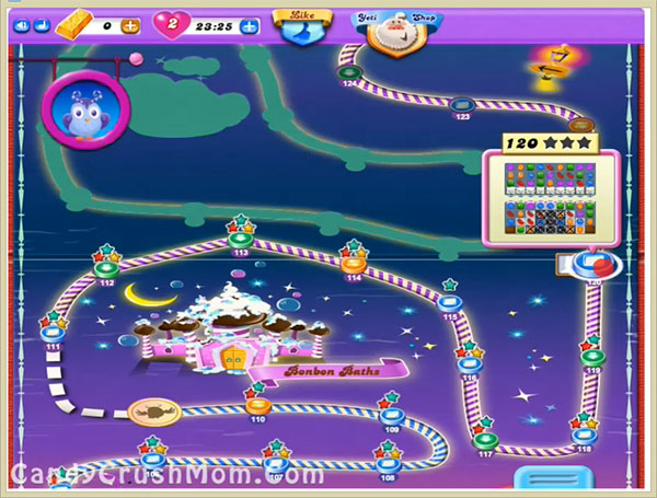 Candy Crush Dreamworld Level 120