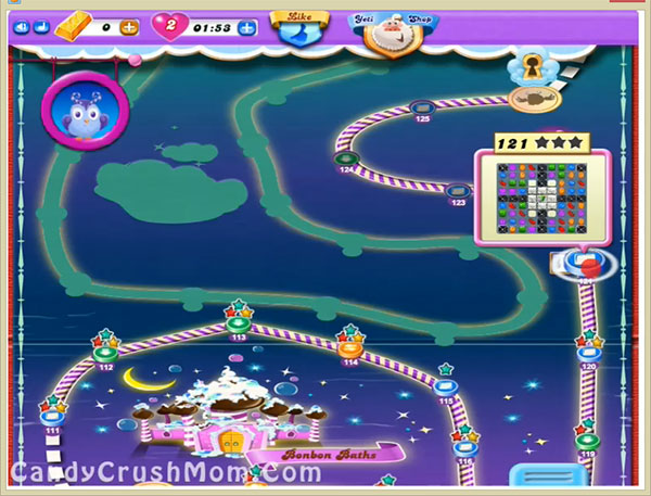 Candy Crush Dreamworld Level 121