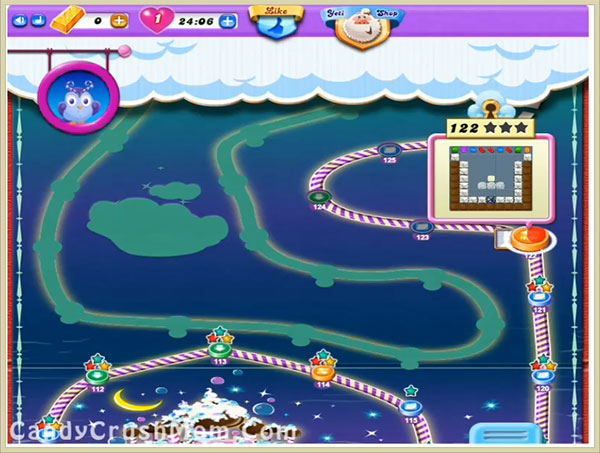 Candy Crush Dreamworld Level 122