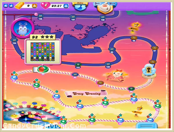 Candy Crush Dreamworld Level 92