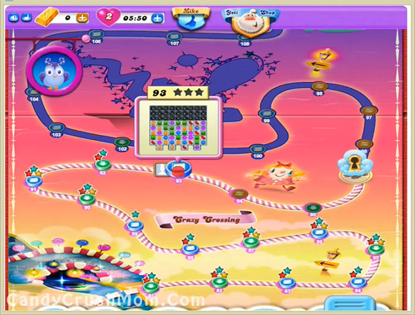 Candy Crush Dreamworld Level 93