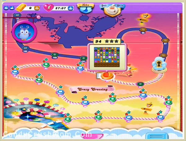 Candy Crush Dreamworld Level 94