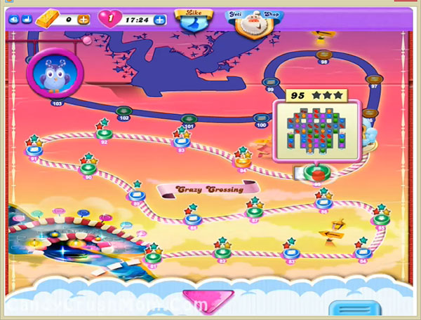 Candy Crush Dreamworld Level-95