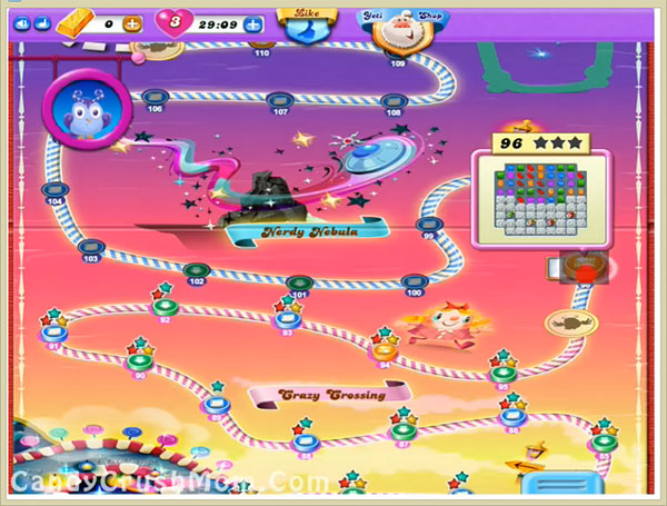 Candy Crush Dreamworld Level 96