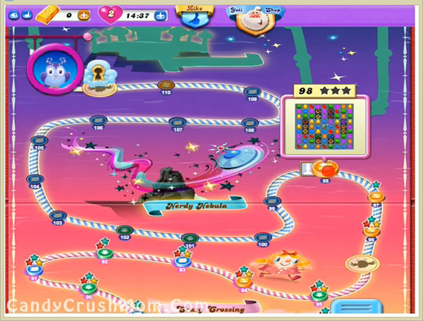 Candy Crush Dreamworld Level 98