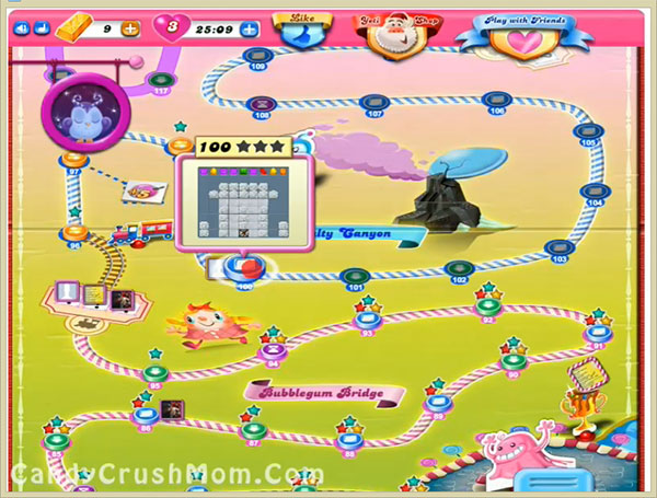 Candy Crush Level 100