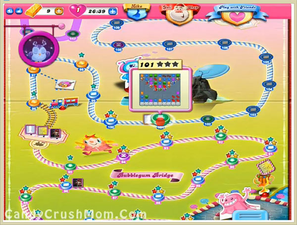 Candy Crush Level 101