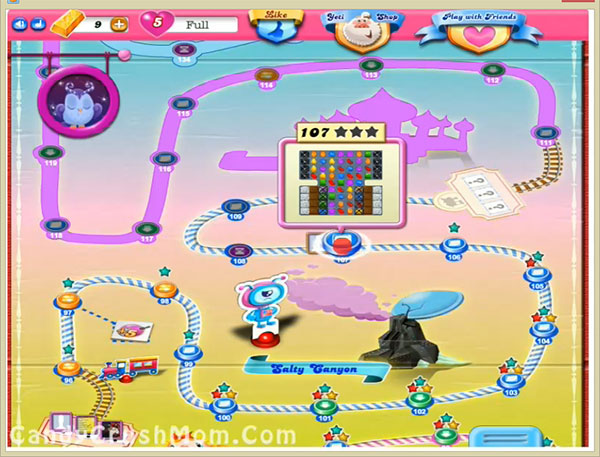 Candy Crush Level 107