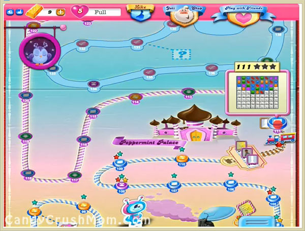 Candy Crush Level 111