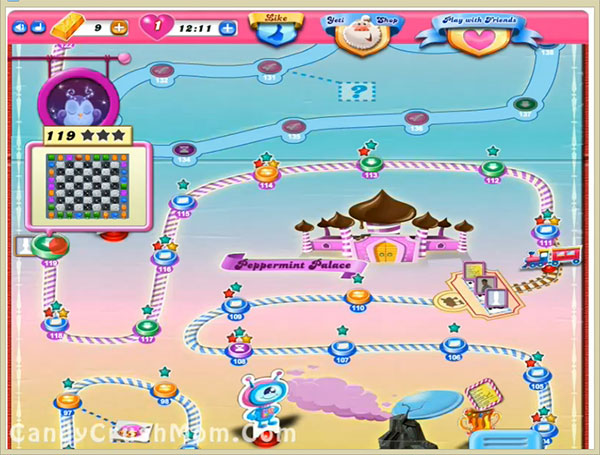 Candy Crush Level 119