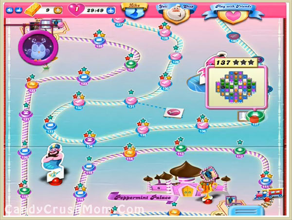 Candy Crush Level 137