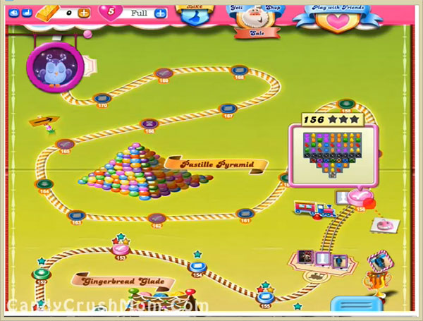 Candy Crush Level156