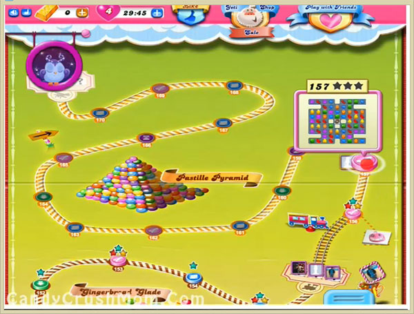 Candy Crush Level 157