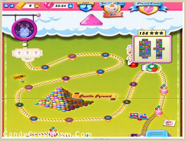 Candy Crush Level 158