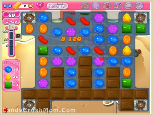 Tips and Walkthrough: Candy Crush Level 165