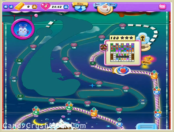 Candy Crush Dreamworld Level 123