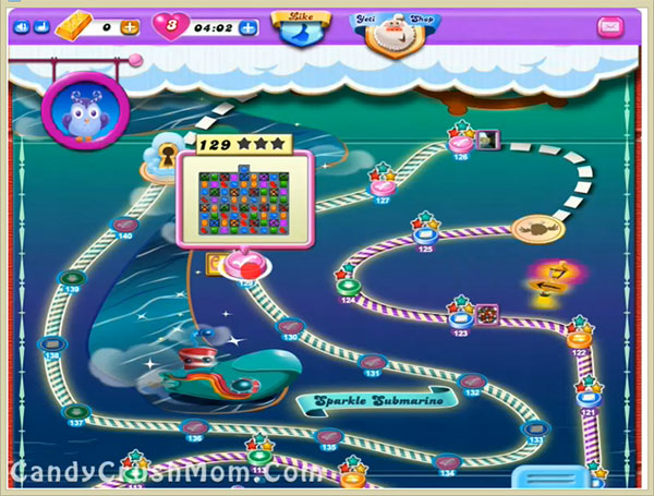 Candy Crush Dreamworld Level 129
