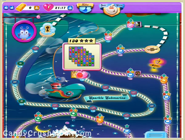 Candy Crush Dreamworld Level 130