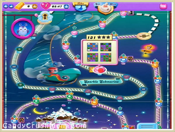 Candy Crush Dreamworld Level 131