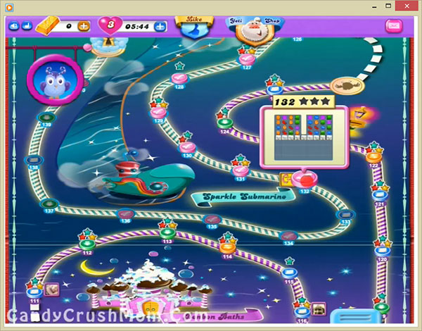 Candy Crush Dreamworld Level 132