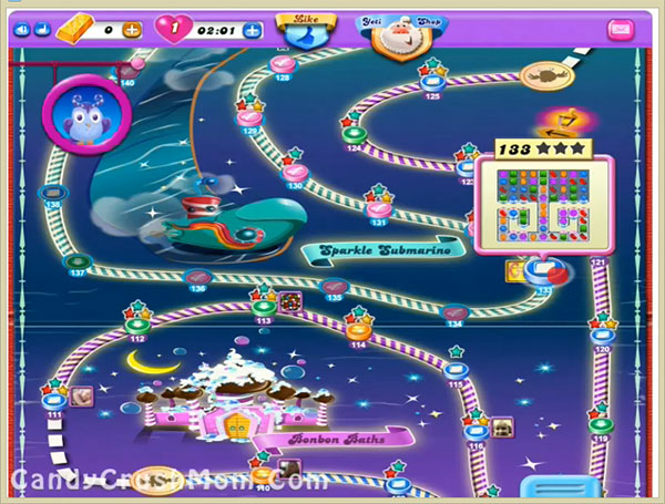 Candy Crush Dreamworld Level 133