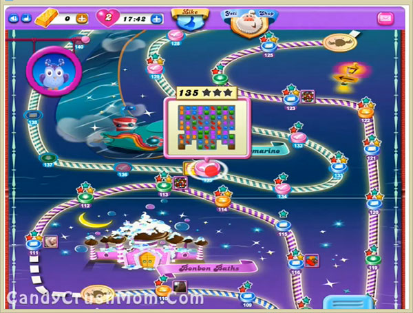 Candy Crush Dreamworld Level 135
