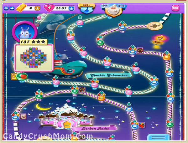 Candy Crush Dreamworld Level 137